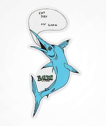 Baker Fish Talk Sticker