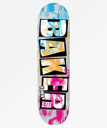"Baker Hawk Ink Drops 7.75"" Skateboard Deck"