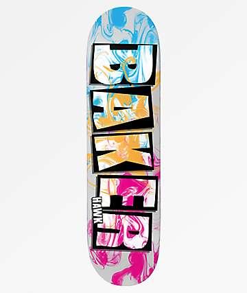 """Baker Hawk Ink Drops 7.75"""" Skateboard Deck"""