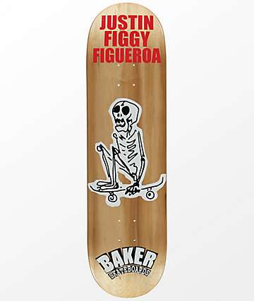 "Baker JF From The Grave 8.5"" Skateboard Deck"
