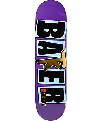 """Baker Kennedy Icon Purps 8.125""""  Skateboard Deck"""