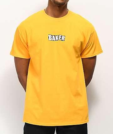 Baker Logo Gold T-Shirt