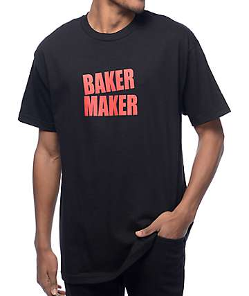 Baker Maker Black T-Shirt