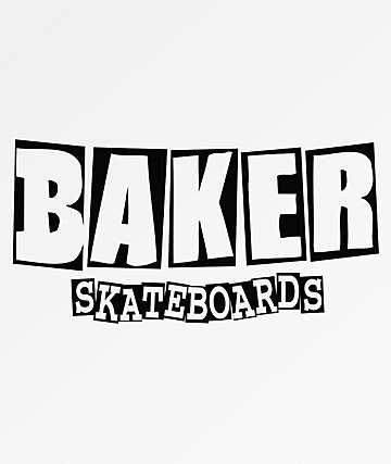 Baker Medium Brand Logo Sticker