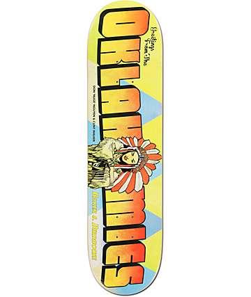 "Baker Oklahomies Relief 8.0""  Skateboard Deck"