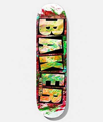 """Baker Reynolds Finger Paint 8.0"""" Skateboard Deck"""