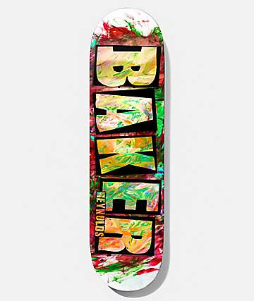 "Baker Reynolds Finger Paint 8.0"" Skateboard Deck"