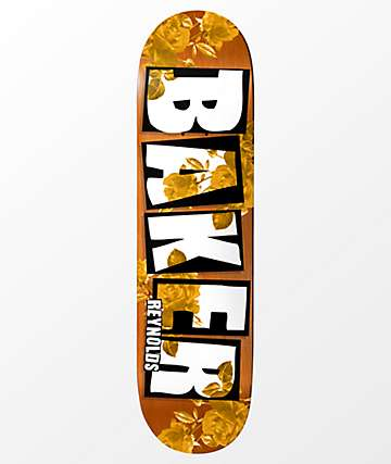 "Baker Reynolds Rose Gold 8.0"" Skateboard Deck"