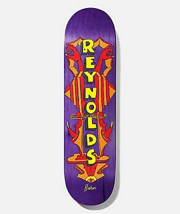 """Baker Reynolds Totem 8.0"""" Skateboard Deck"""