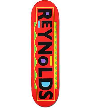 "Baker Reynolds Wazzup 8.25""  Skateboard Deck"