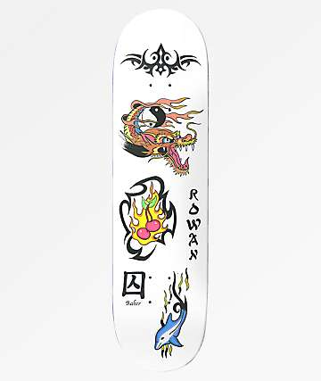 "Baker Rowan Bad Decision 8.38"" Skateboard Deck"