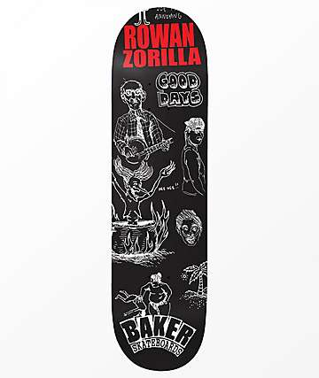 "Baker Rowan Good Days 8.38"" Skateboard Deck"