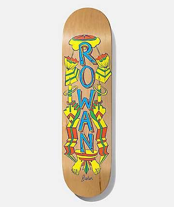 "Baker Rowan Totem 8.125"" Skateboard Deck"