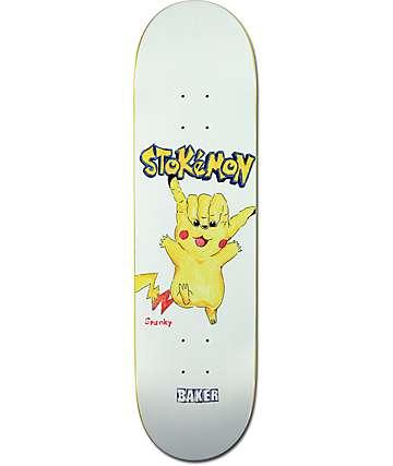 "Baker Spanky Stokemon 8.25"" Skateboard Deck"