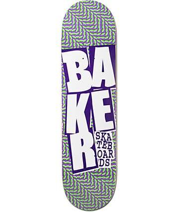 """Baker Stacked Chillwave 8.125""""  Skateboard Deck"""