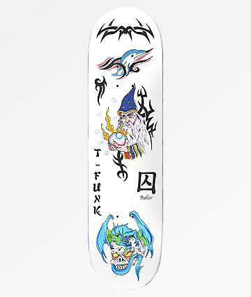 """Baker T-Funk Bad Decision 8.5"""" Skateboard Deck"""