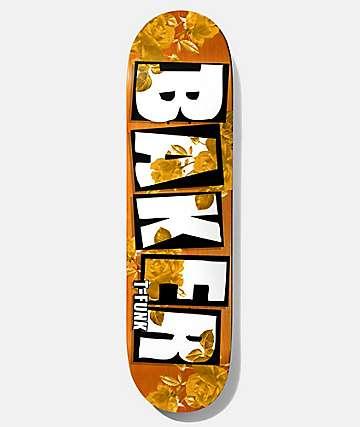 """Baker T-Funk Rose Gold 8.475"""" Skateboard Deck"""