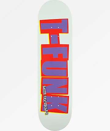 """Baker T.Funk Logo 8.125"""" Skateboard Deck"""