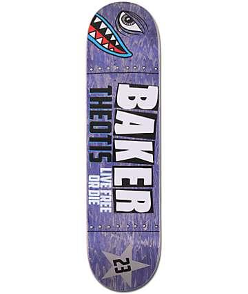 """Baker Theotis Beasley Bomber 7.8""""  Skateboard Deck"""