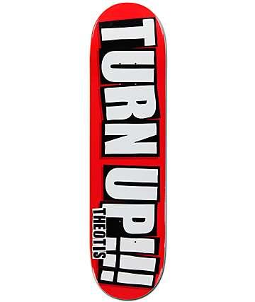 "Baker Theotis Turn Up 8.0""  Skateboard Deck"