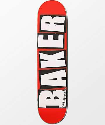 """Baker White Brand Logo 7.5"""" tabla de skate"""