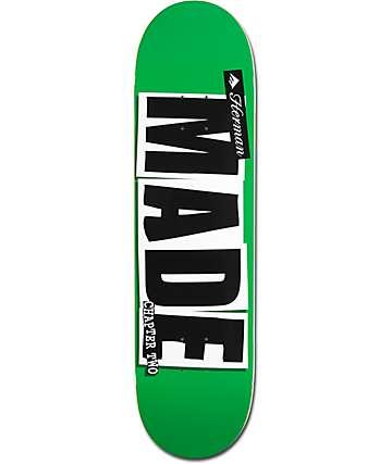 """Baker x Emerica Herman Made 2 8.25"""" Skateboard Deck"""