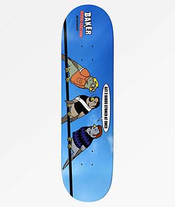 "Baker x Trailer Park Boys Birds 8.0"" Skateboard Deck"