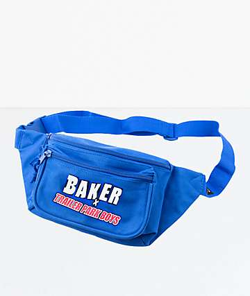 Baker x Trailer Park Boys Blue Shoulder Bag