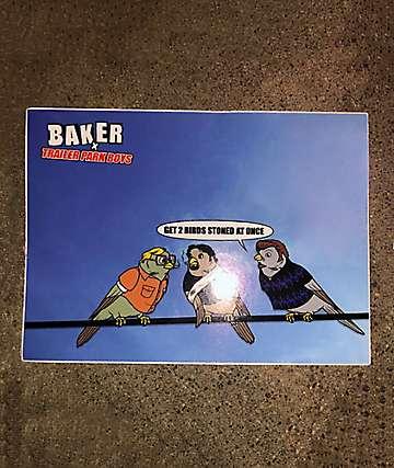 Baker x Trailer Park Boys Sticker