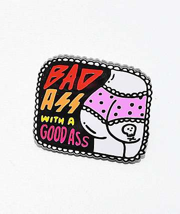Banana Bones Bad Ass Pin