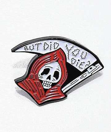 Banana Bones But Did You Die Pin