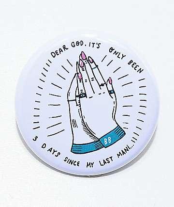 Banana Bones Praying Hands Pin