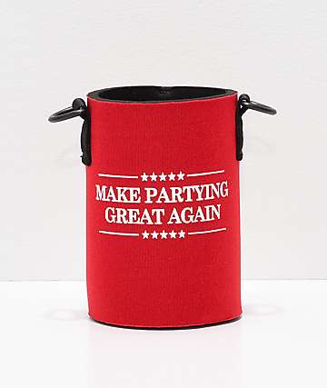Beer Savage Make Partying Great Again Leisure Beverage Sleeve