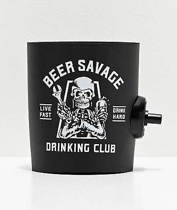 Beer Savage Motor Club PSF Beverage Sleeve