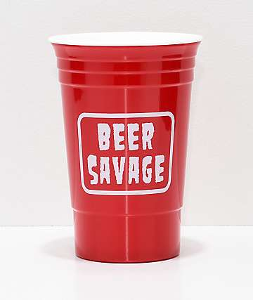 Beer Savage Stacked Party Cup