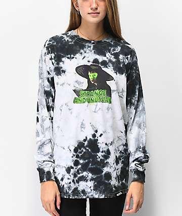 Beetlejuice x Broken Promises Afterlife camiseta tie dye de manga larga