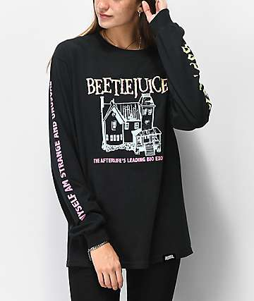 Beetlejuice x Broken Promises Go camiseta de manga larga