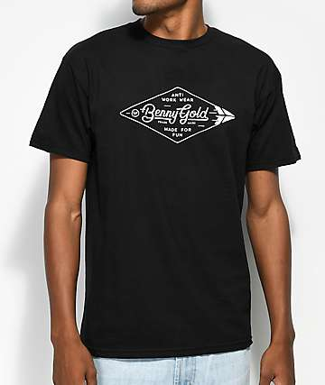 Benny Gold Diamond Label camiseta negra