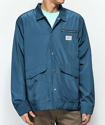 Benny Gold Fisherman Nylon Navy Jacket