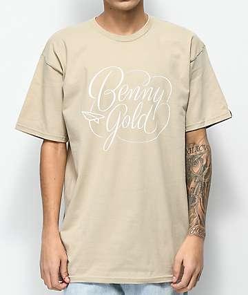 Benny Gold Marinovich Script camiseta beige