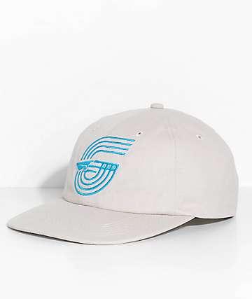 Benny Gold Polo Beige Khaki Track Canvas Strapback Hat