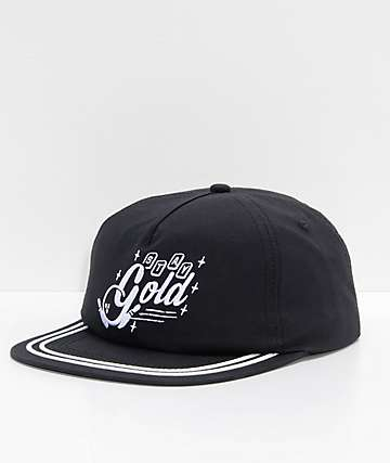 Benny Gold Strike Black Strapback Hat