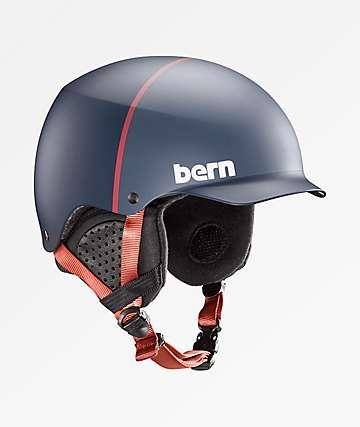 Bern Baker casco de snowboard azul marino mate