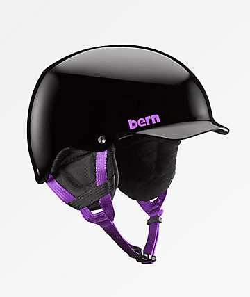 Bern Muse casco de snowboard de equipo en negro