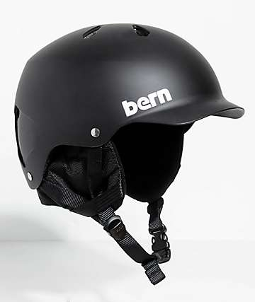 Bern Watts EPS Audio casco de snowboard en negro