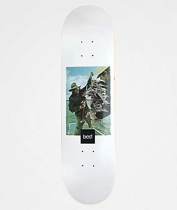 """Best Seaweed 8.5"""" Skateboard Deck"""