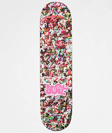 "Best Skate Co. Gum Wall 7.75"" Skateboard Deck"