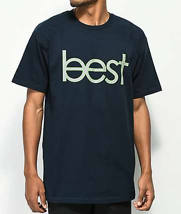 Best Skate Co. Home Team Navy T-Shirt