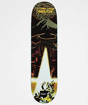 "Best Skate Co. It Came From The Amazon 8.25"" Skateboard Deck"