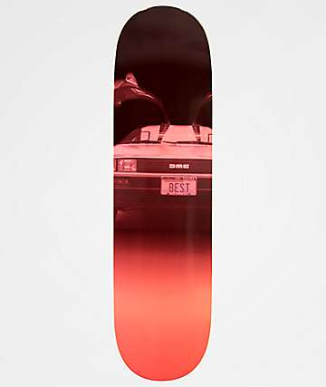 "Best Skate Co. Plates 8.5"" Skateboard Deck"